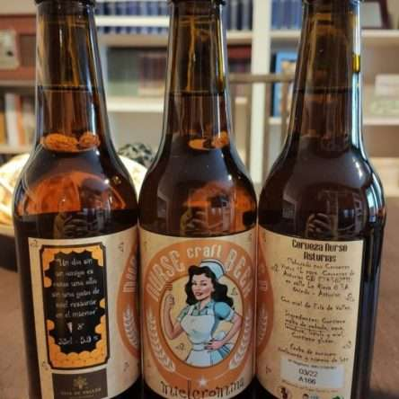 Cerveza Nurse Mielcromina (Pack 12 botellas)